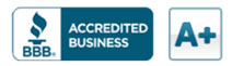 A+ Accredited Business with Better Business Bureau