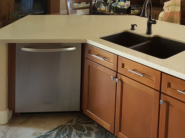 After-Kitchen Island