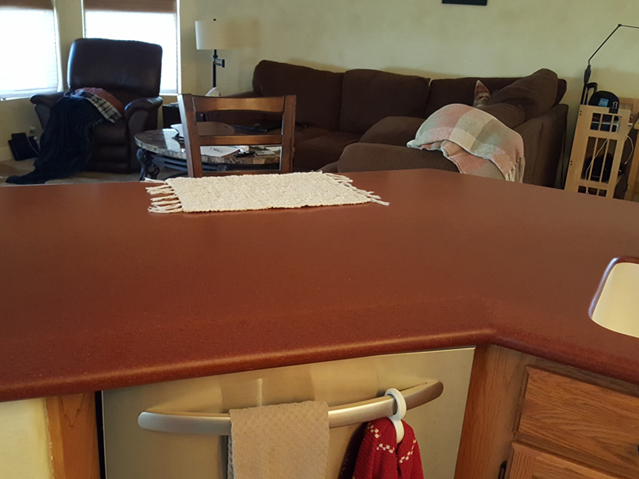Before-Kitchen Island