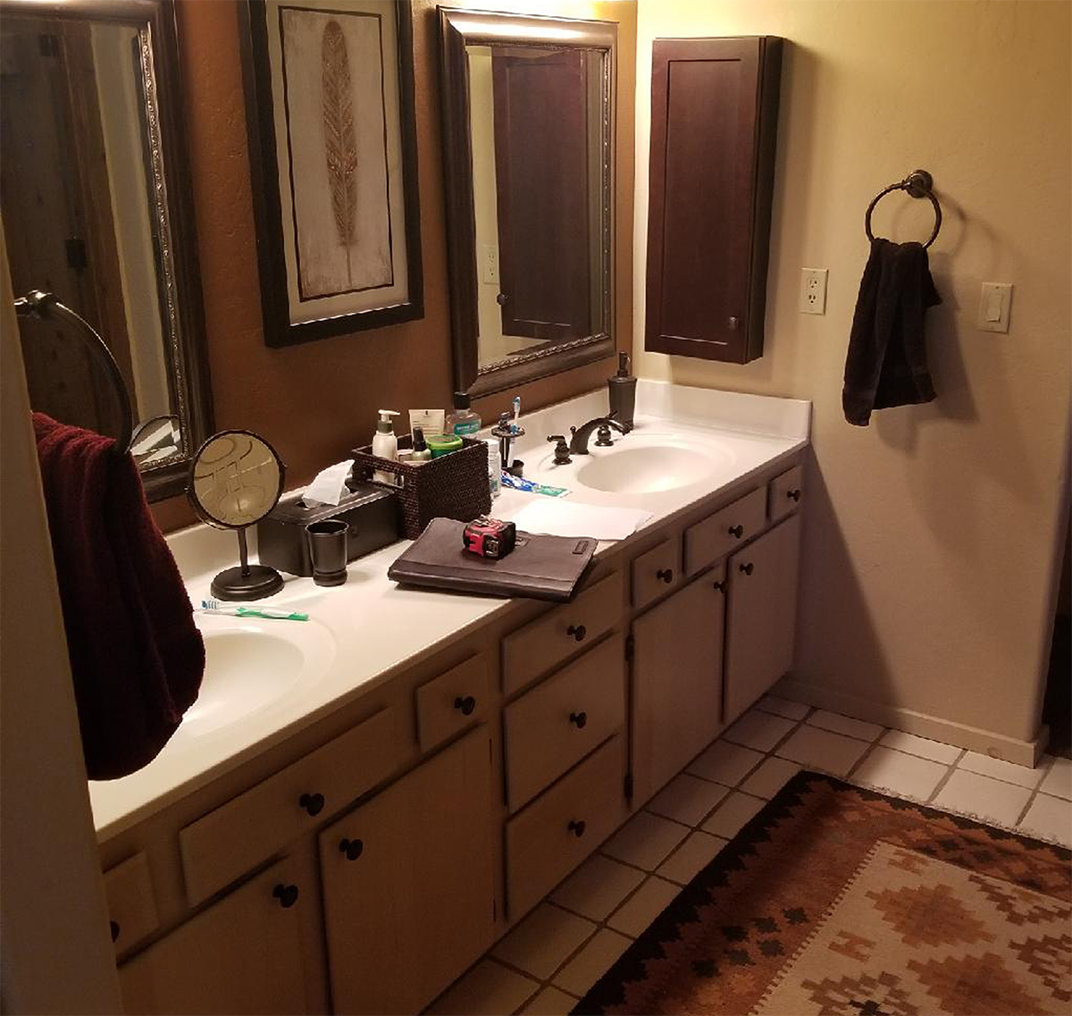 Before-Custom Vanity