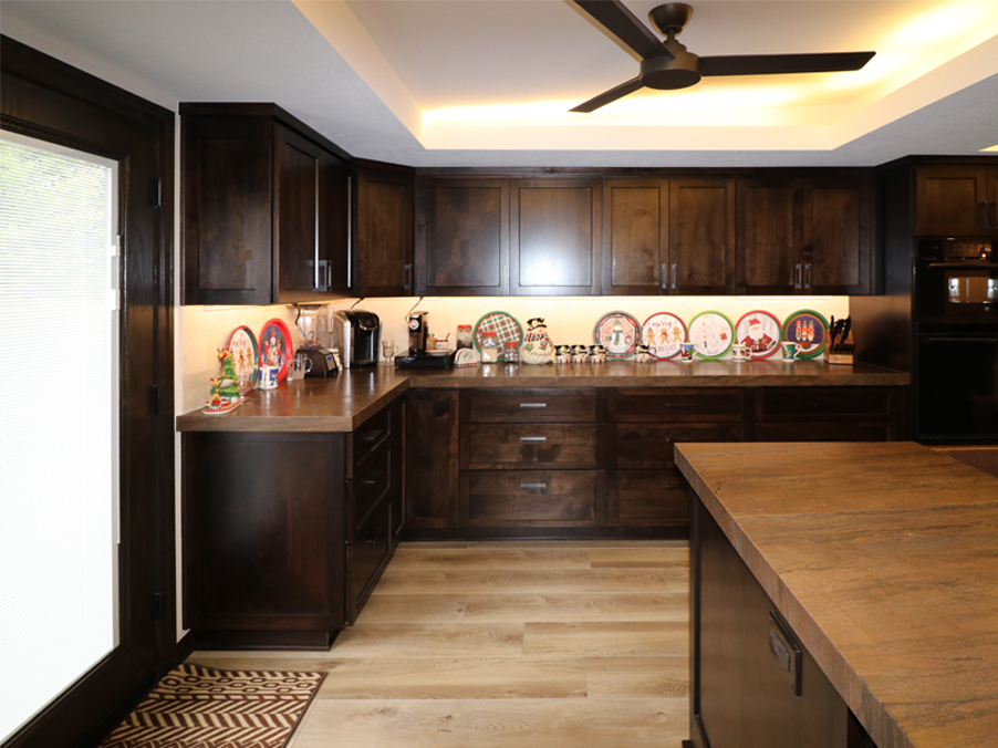 After-Custom Cabinets