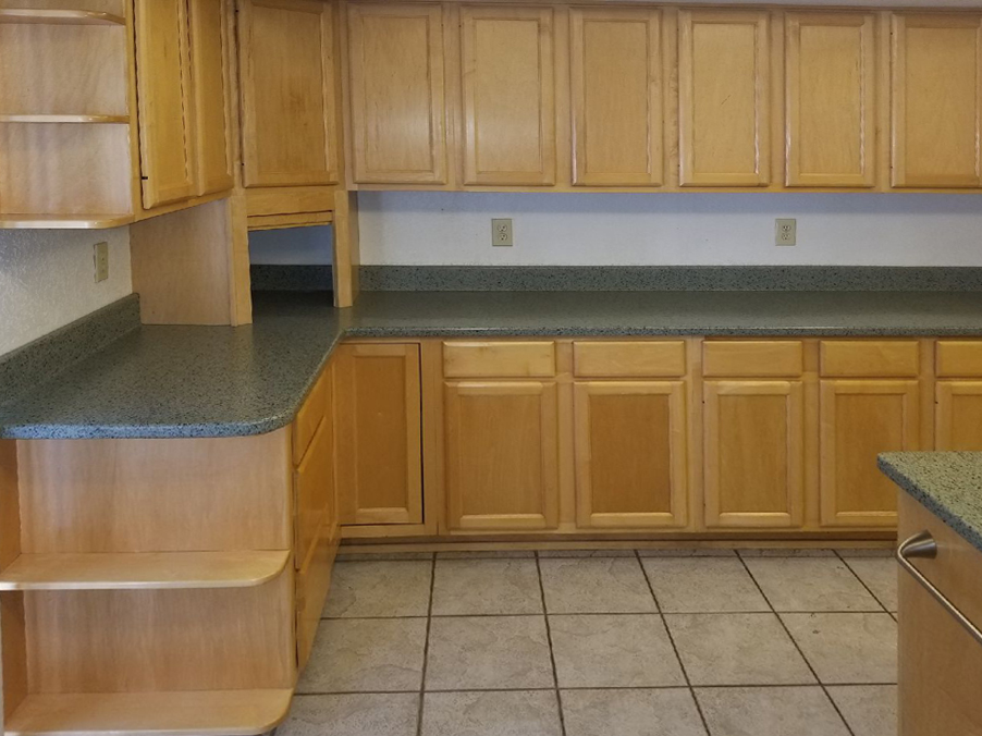 Before-Custom Cabinets