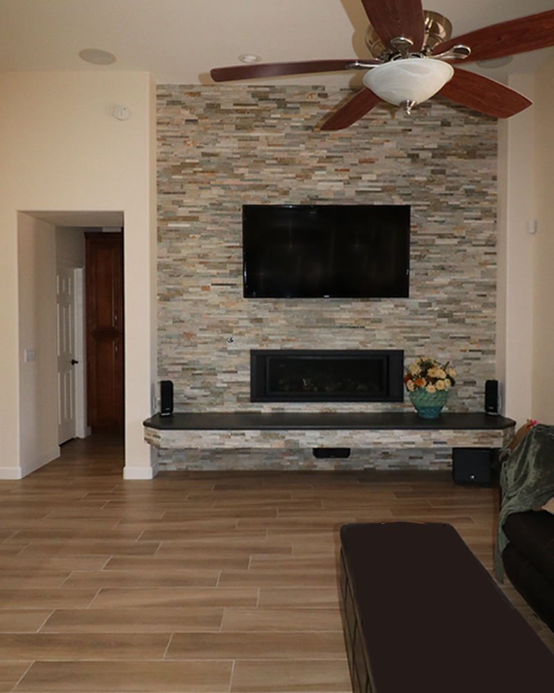 Elegant wall features