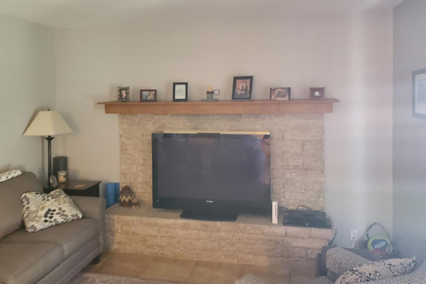 Before-Entertainment Wall