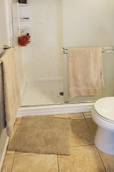 Before-Shower Renovation